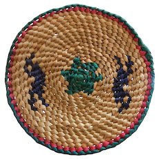 Vintage Hand Woven Miniature Papago