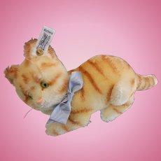 Vintage Original Steiff Tabby Cat