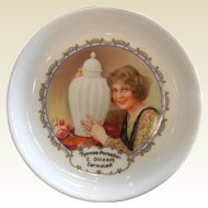 Vintage Thomas Bavaria Porcelain Advertising Plate