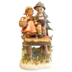 """Vintage 1992 Goebel Hummel Porcelain Figurine - """"On Our Way"""""""