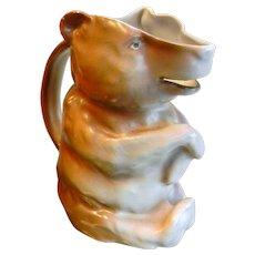 BAVARIA Royal Bayreuth Porcelain Bear Creamer