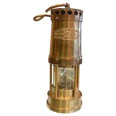 Vintage E. Thomas & Williams Ltd. Cambrian Miner's Lantern