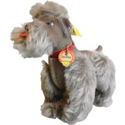 Vintage Steiff Snobby the Poodle Dog Stuffed Animal
