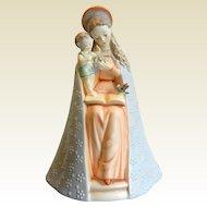 Vintage Hummel Goebel Porcelain Figurine - Flower Madonna