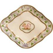 Antique Wedgwood England Hand Painted  Cherub Porcelain Plate