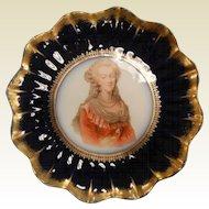 Vintage Limoges D. & Co. France Porcelain Plate - Marie Antoinette