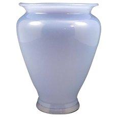 """Loetz """"Himmelblau Glatt"""" Bohemian Art Nouveau Glass Vase/, PN III-512, ca. 1914"""