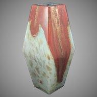 Art Nouveau Jugendstil Internally Decorated Art Glass Vase, ca. 1900