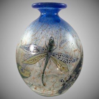 """Hantich & Co. """"Johnolyth"""" Vase, Haida, ca. 1931, very rare"""