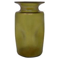 "Loetz ""Bronce Glatt"" Art Nouveau Glass Vase, PN I-7871, ca. 1899"