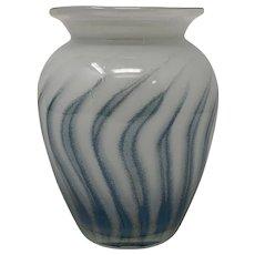 European Art Glass Vase