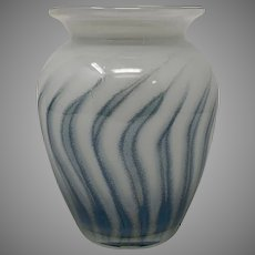 European Art Glass Vase