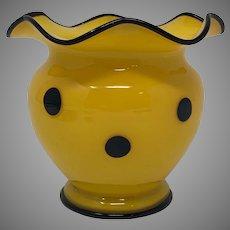 "Loetz ""Ausfuhrung 181"" Art Deco Tango Glass Vase, ca. 1920s"