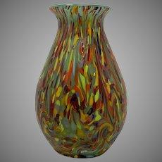 Loetz Ausführung 237 Jade Green Art Glass Vase, ca. 1920