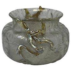 "Loetz ""Corralenaste"" Art Nouveau Glass Vase, ca. 1900 (as found)"