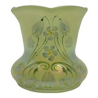 Poschinger, Buchenau, Art Nouveau Jugendstil Glass Vase,, ca. 1900