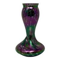 Rindskopf Bohemian Art Nouveau Glass Vase, ca. 1905