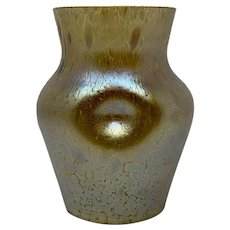 Loetz Candia Papillon Jugendstil Glass Vase, PN I-7632, ca. 1900