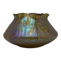 Loetz Phänomen Genre Art Nouveau Glass Vase, ca. 1902