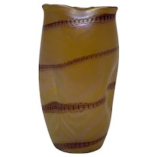 Glasfabrik Elisabeth (Pallme-Koenig) Phänomen Type Art Nouveau Iridescent Glass Vase, ca. 1900