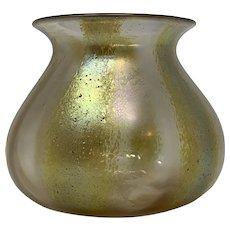"Loetz ""Candia m. Silberstreifen"" Art Nouveau Glass Vase, PN III-613, ca. 1920"