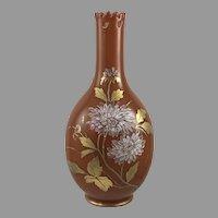 Harrach Neuwelt Reticulated Art Nouveau Glass vase, ca. 1890