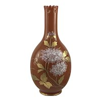 Harrach Neuwelt Reticulated Art Nouveau Glass vase, ca. 1890