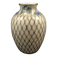 Harrach Enameled Air Trap vase, ca. 1890