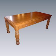Quartersawn Oak Conference Table