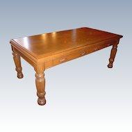 Quartersawn Oak Conference Table