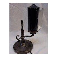Small Rare Form Emeralite Piano Lamp