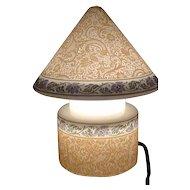 Brown Etched Bellova Gnome Lamp.