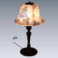 Beautiful Painted Bellova Boudoir Lamp