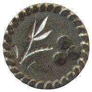 12 Rare Early to Mid 1800's Cut Metal Buttons / Civil War Era Restoration