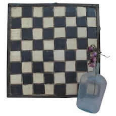 Unusual Early 20th Century OOAK Primitive Make Do Game board