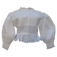 Exquisite Antique Blouse for Large Doll
