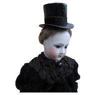 Extremely Rare Gentleman's Wig and Top Hat