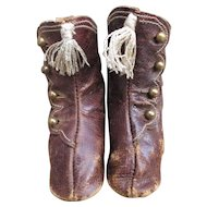 Antique Leather Fashion Boots