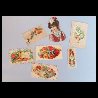 19th c. Victorian Calling Cards # 9