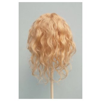 Antique Blonde Mohair Wig