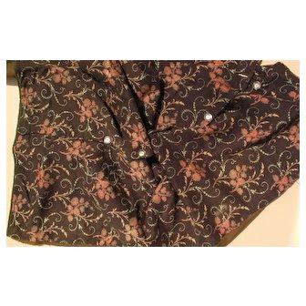 Quaint and Elegant 1870 Fabric.
