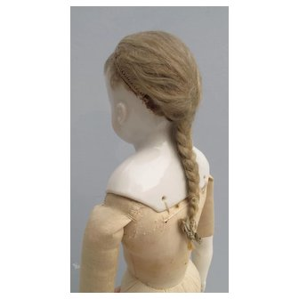1860-1870 Delicate Lady Doll Wig
