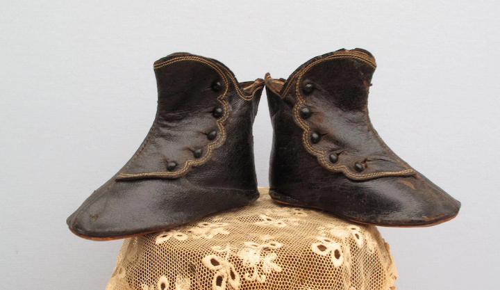 Handsome Antique Leather Boots