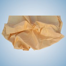 Antique Iridescent Pale Butternut Taffeta.