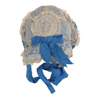 Extraordinary 1870's Bonnet for Larger Doll