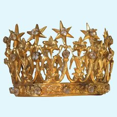 19thc. Miniature French Crown