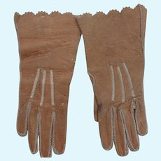 Antique French Fashion Gloves