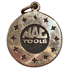 Rare Vintage 10k Gold Advertising Charm For MAC Tools