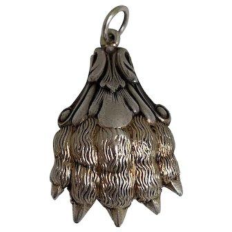 Antique French Lion Paw Amulet Pendant
