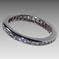 c1920 - Platinum & Diamond ETERNITY BAND